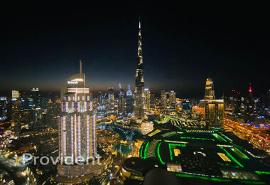 Fully Furnished l High floor | Stunning view