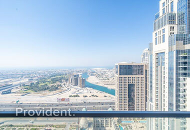 Exclusive Stock | 2Bed with Sea & Canal View