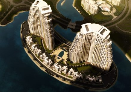 The Fronds aerial view - Jumeirah Heights