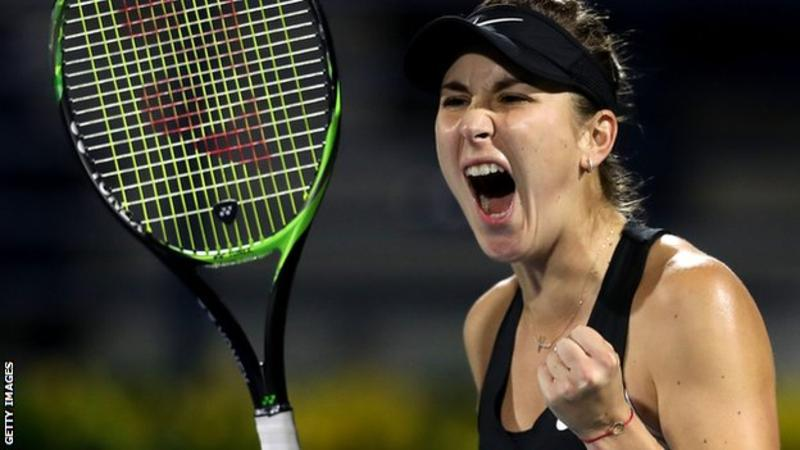 Dubai Championships Simona Halep loses to Ms Bennick