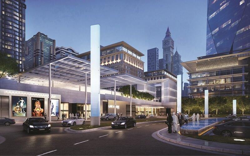 Dubai international financial centre shopping