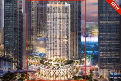 برج كراون من إعمار في وسط مدينة دبي