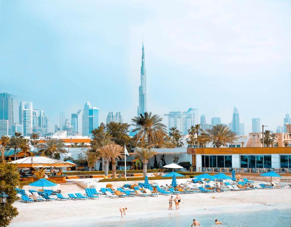 jumeirah heights beach
