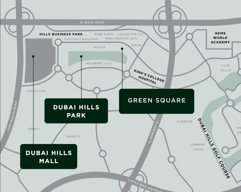 Green Square in Dubai Hills Estate