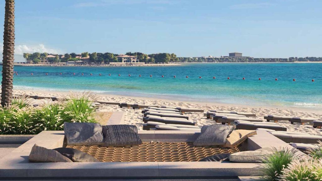 Emaar Beachfront Private Beach Access