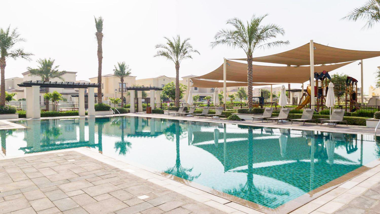المرابع العربية -2 حمام سباحة