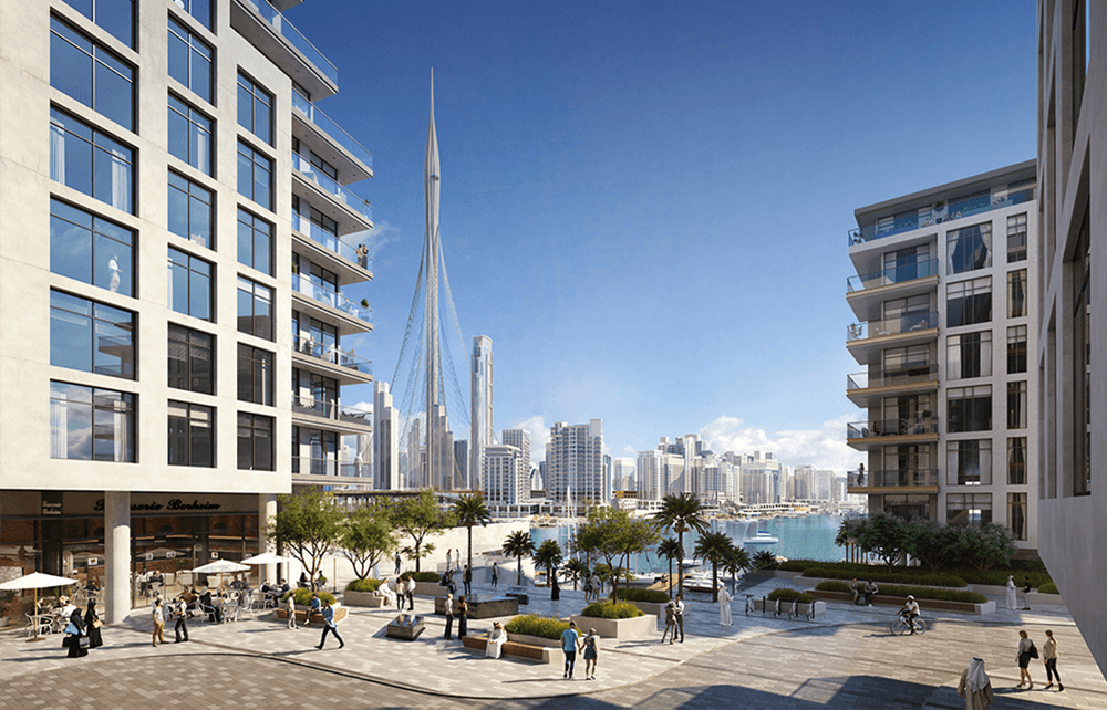 ex2 1 - The Cove at Dubai Creek Harbour by Emaar