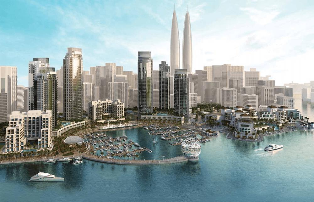 السابقين 1 - مساكن خور دبي في ميناء الخور