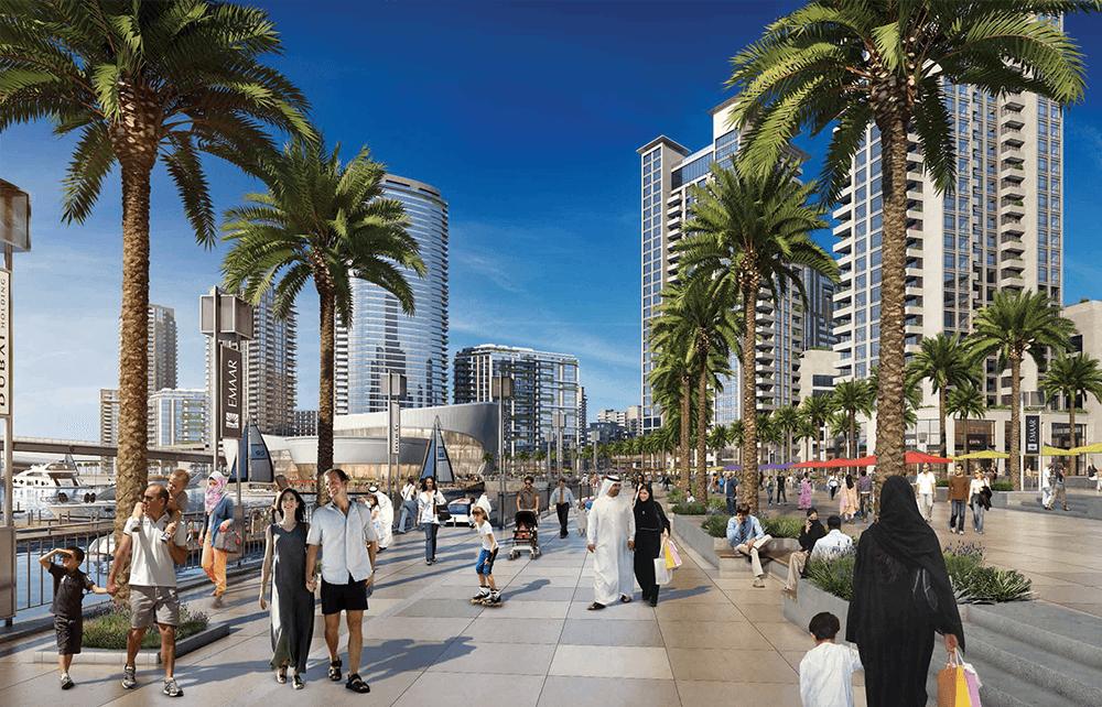 السابقين 2 - مساكن خور دبي في ميناء الخور