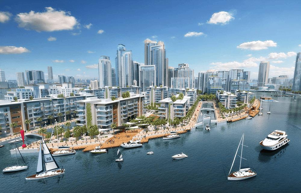 السابقين 3 - مساكن خور دبي في ميناء الخور