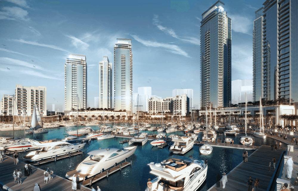 السابقين 4 - مساكن خور دبي في ميناء الخور