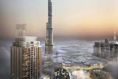 Предварительный просмотр 10 396x265 - Гранд в центре Дубая от Emaar