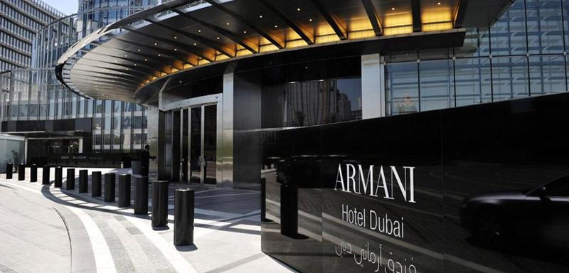 Armani Hotel дубай