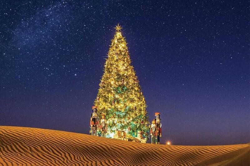 迪拜的圣诞市场(4)