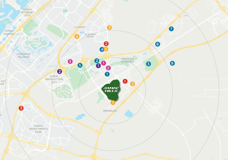 location map melrose_villas