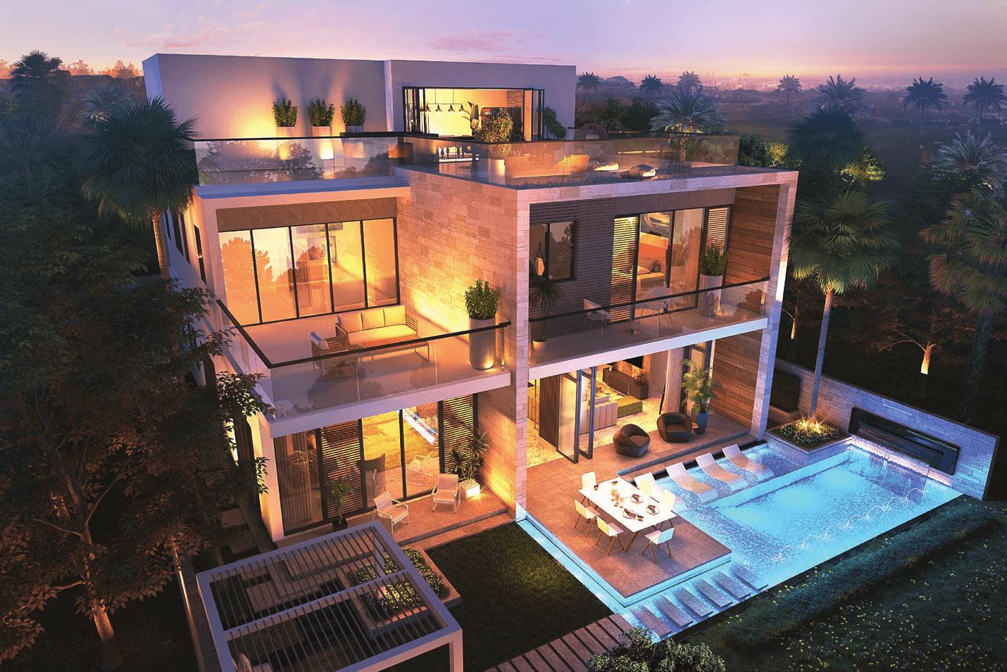 melrose villas 3 - Melrose Estates Golf Villas by Damac