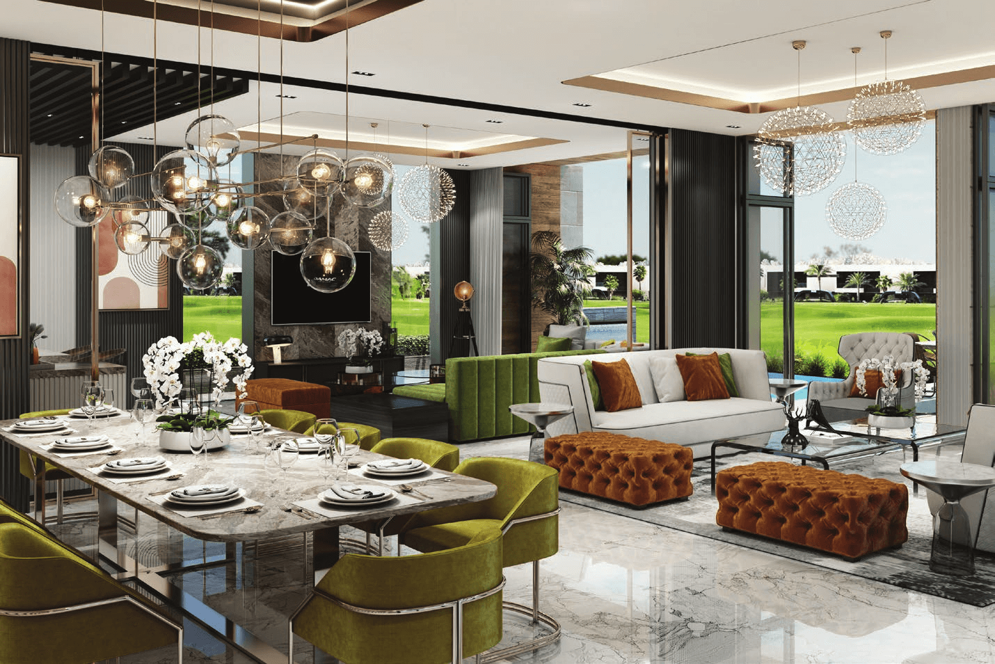 melrose villas 4 - Melrose Estates Golf Villas by Damac
