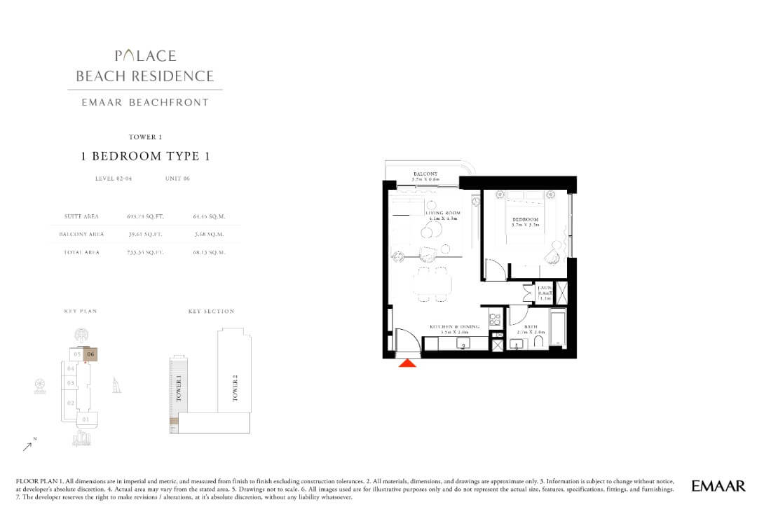 floor1第04页-Palace Residences Emaar Beachfront
