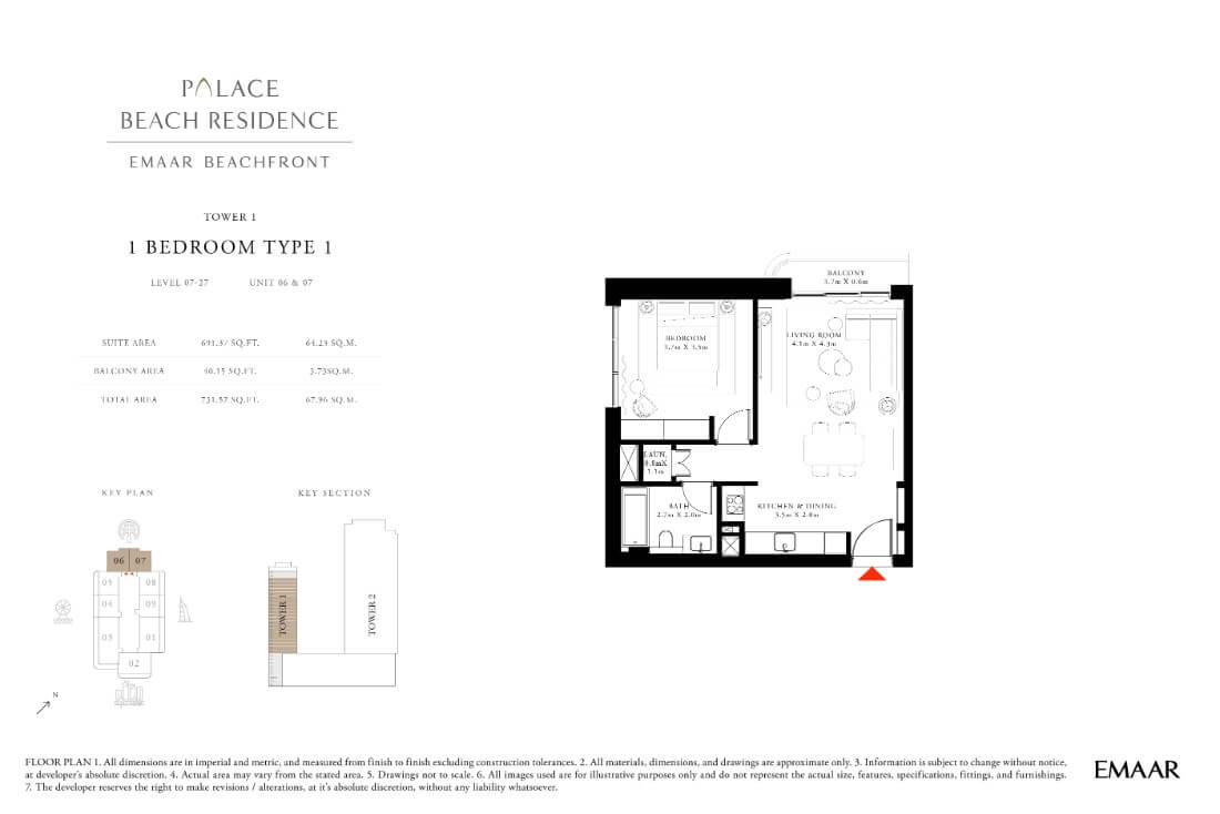 floor1 Page 05 - Palace Residences Emaar Beachfront