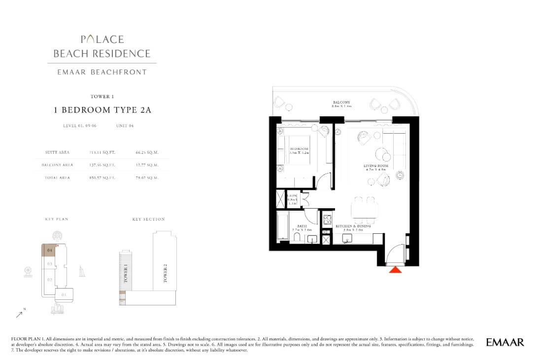 floor1 Page 06 - Palace Residences Emaar Beachfront