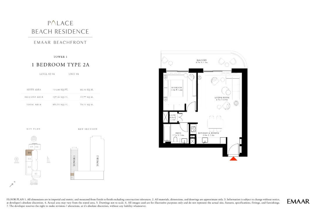 floor1 Page 07 - Palace Residences Emaar Beachfront
