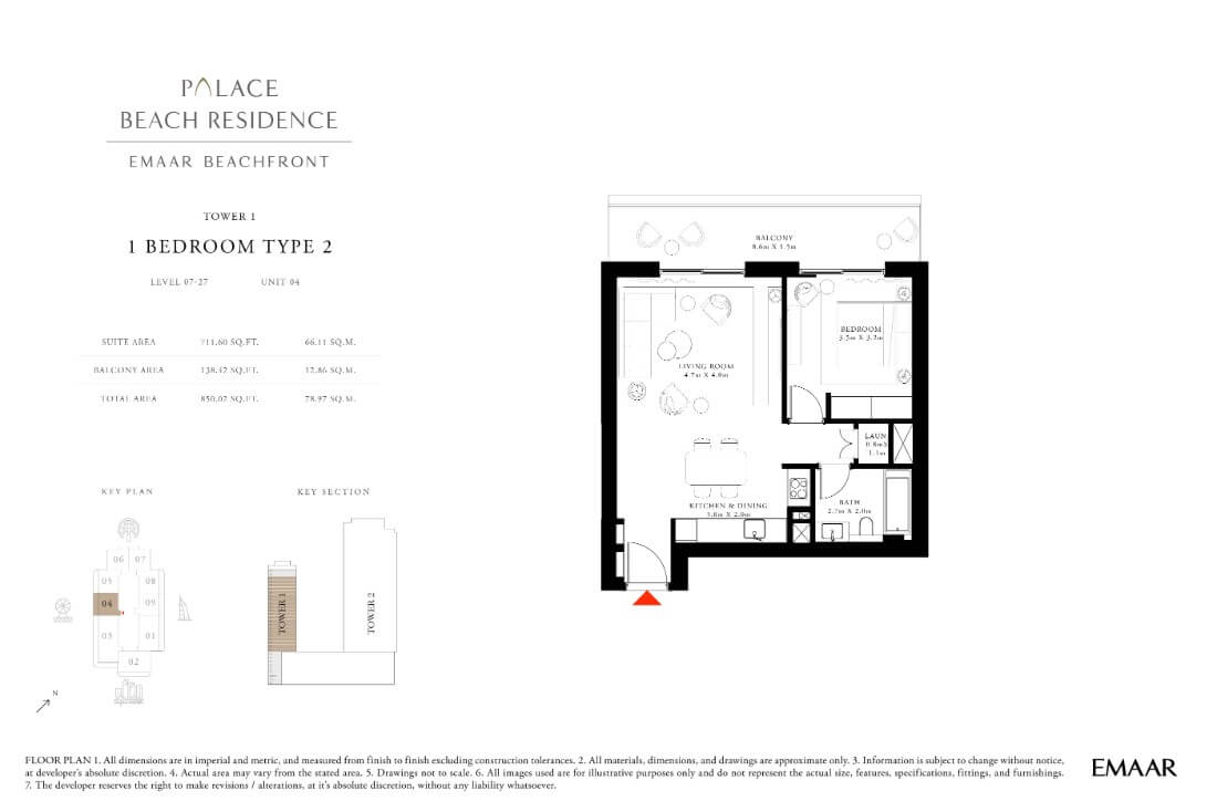 floor1第08页-Palace Residences Emaar Beachfront
