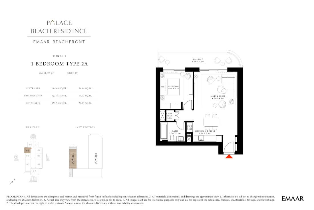 floor1第09页-Palace Residences Emaar Beachfront