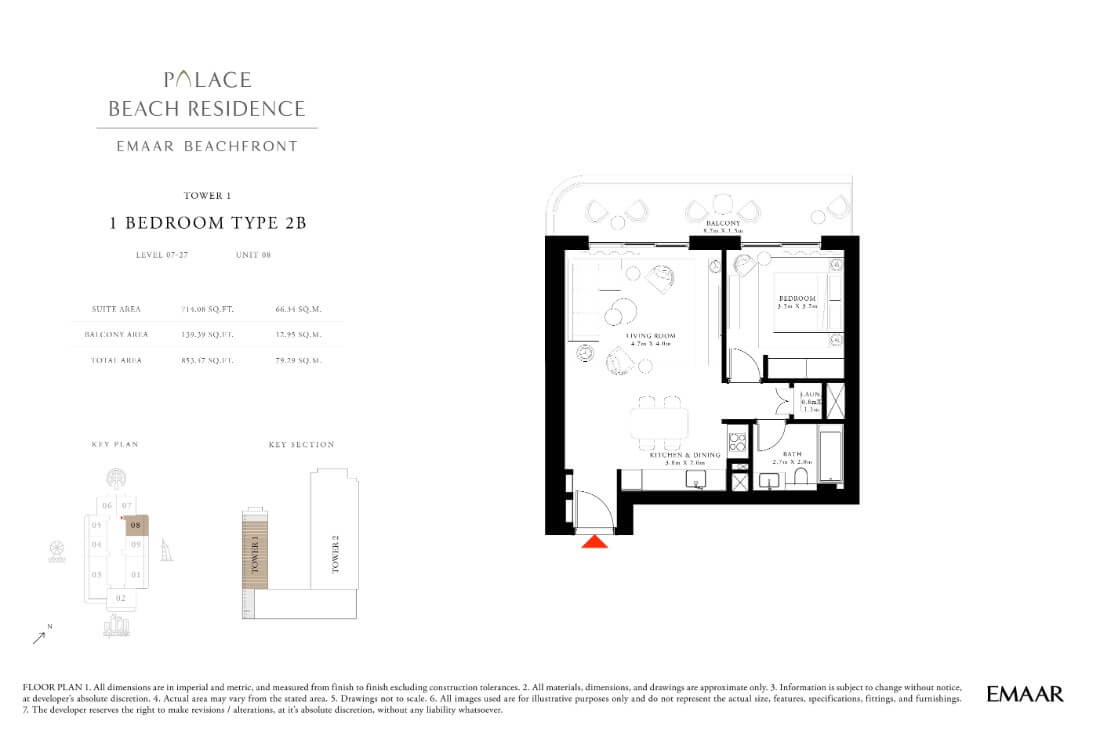 floor1 Page 10 - Palace Residences Emaar Beachfront