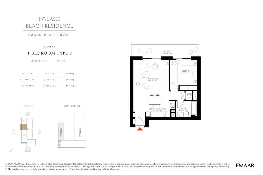 floor1 Page 11 - Palace Residences Emaar Beachfront