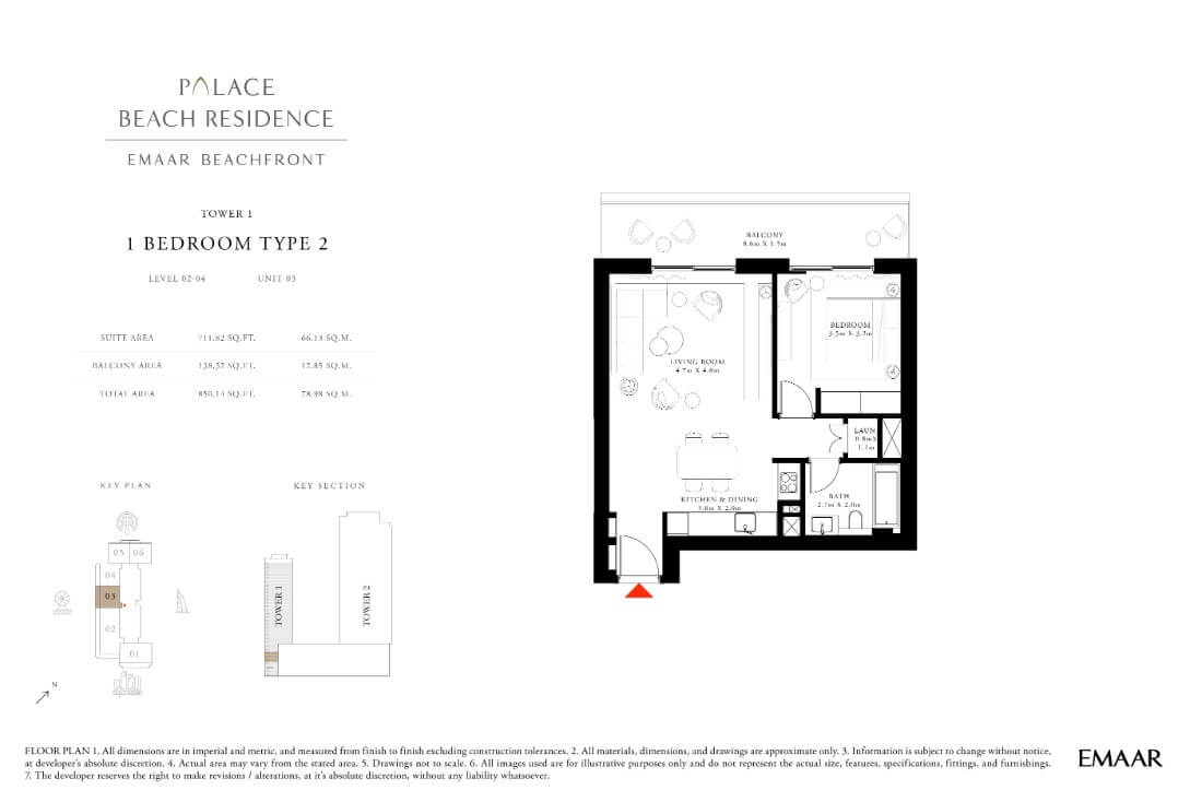 floor1 Page 12 - Palace Residences Emaar Beachfront