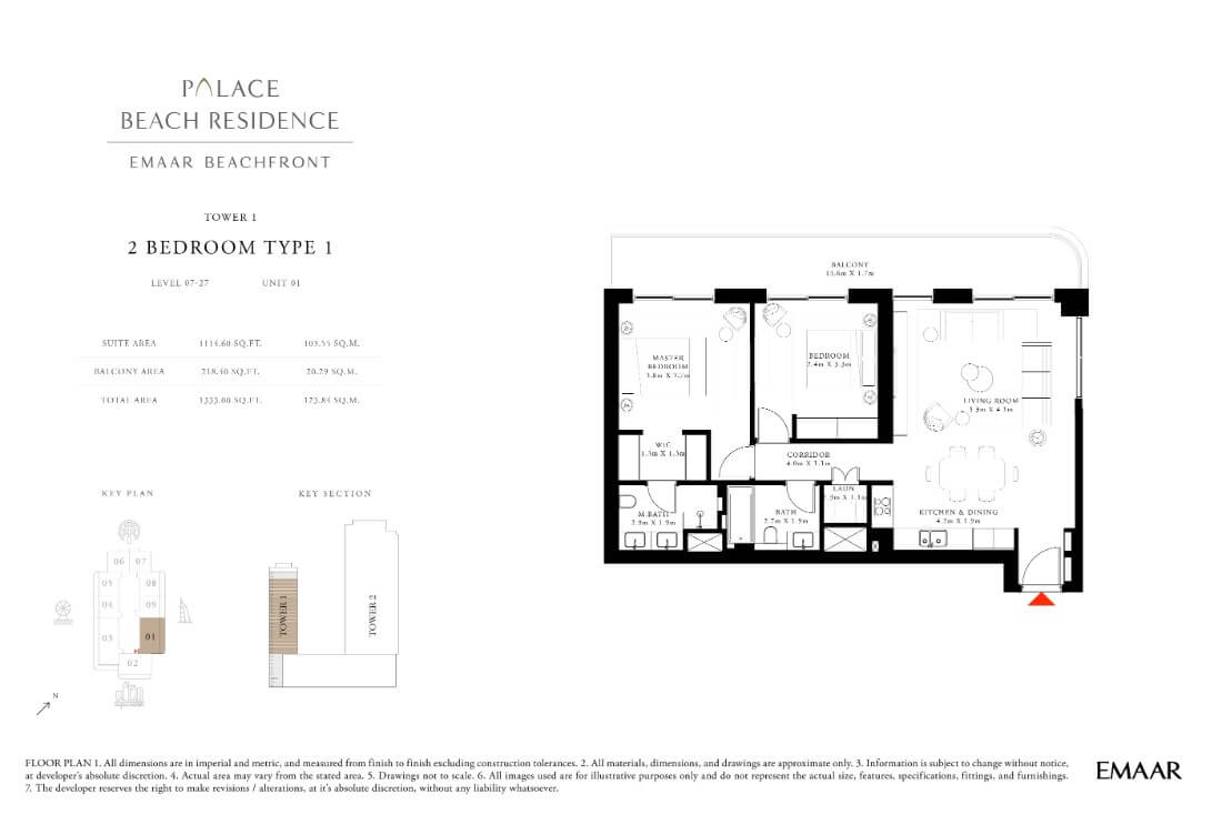 floor1 Page 14 - Palace Residences Emaar Beachfront