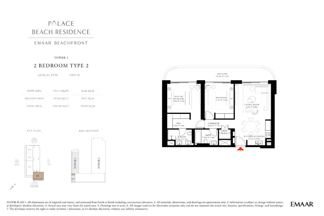 floor1 Page 15 - Palace Residences Emaar Beachfront