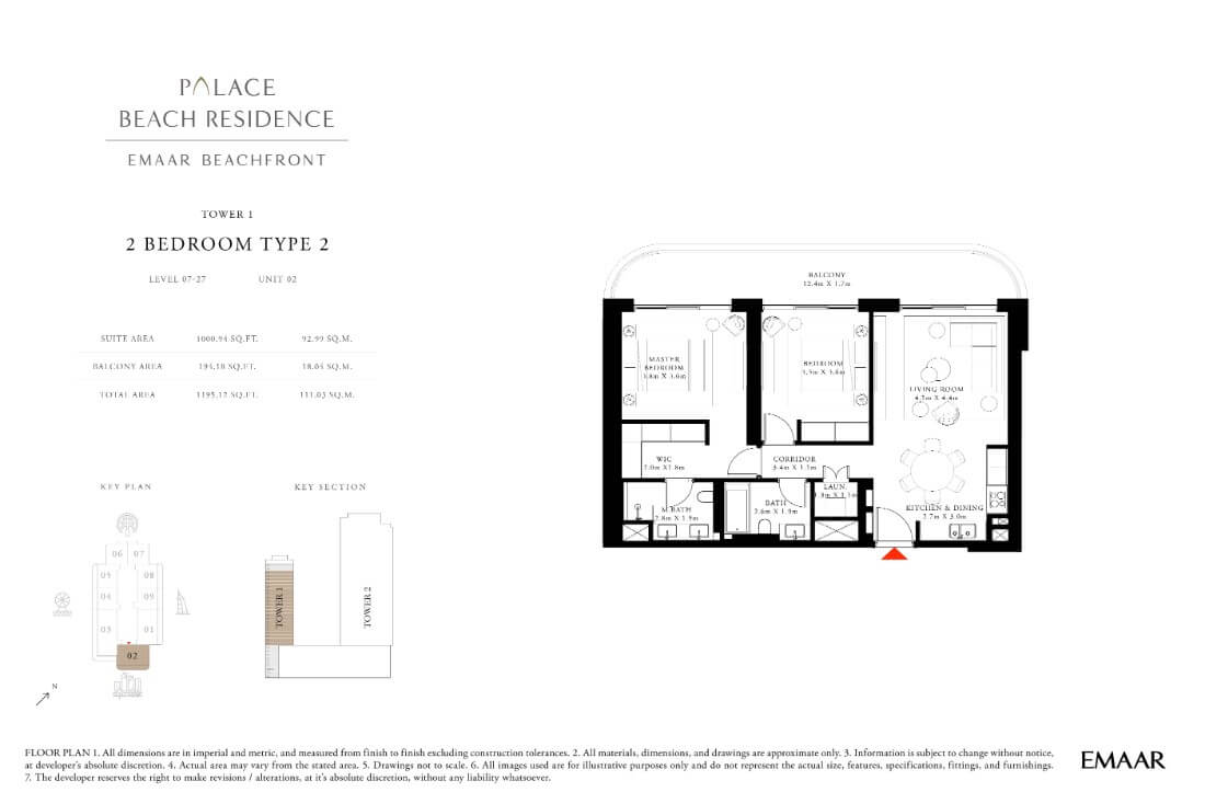 floor1 Page 17 - Palace Residences Emaar Beachfront