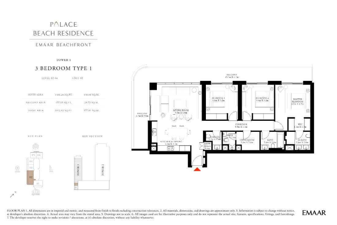 floor1 Page 19 - Palace Residences Emaar Beachfront