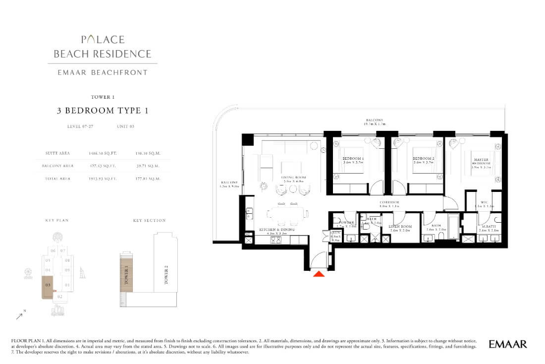 floor1 Page 20 - Palace Residences Emaar Beachfront
