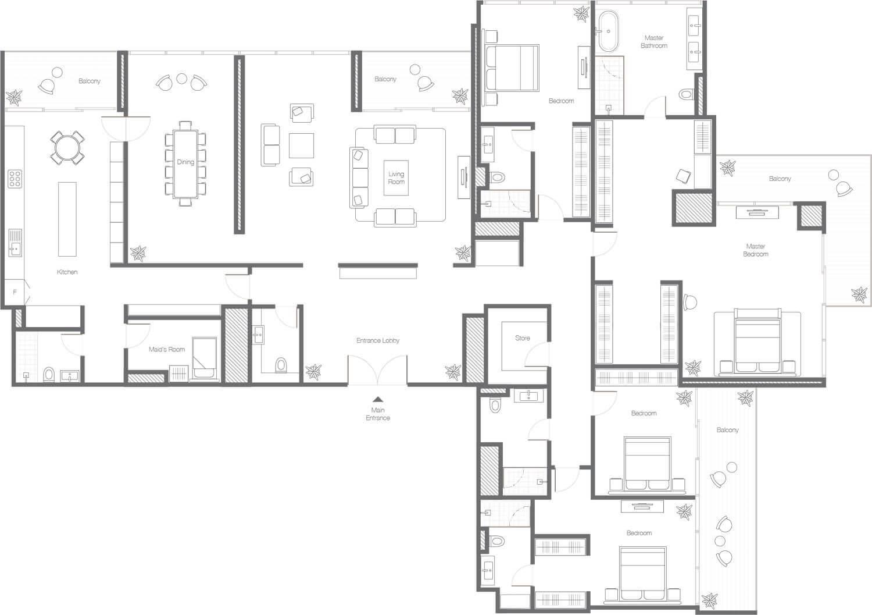 banyan f4 - The Banyan Tree Residences