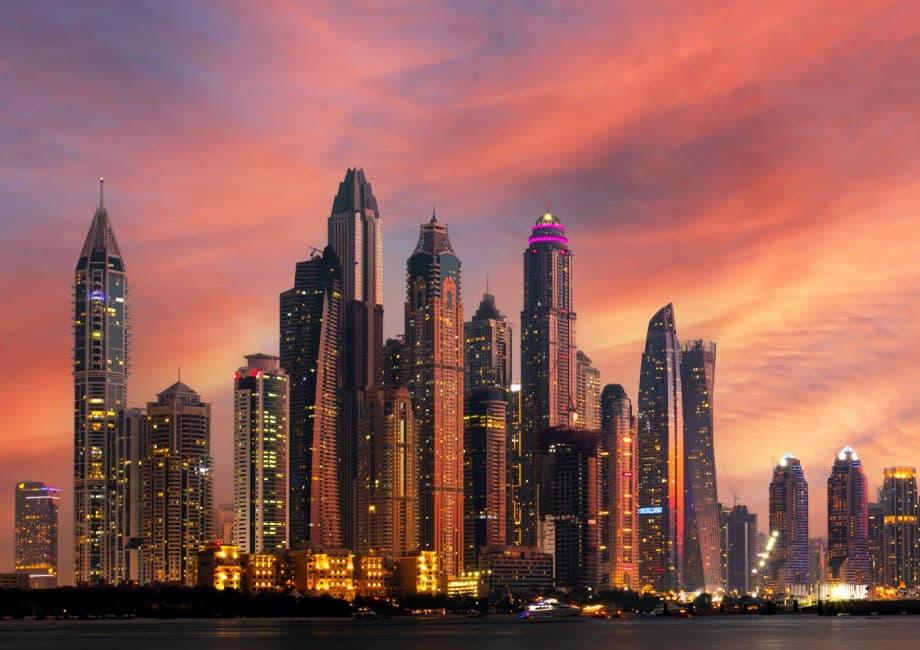 5 последних небоскребов в Дубае